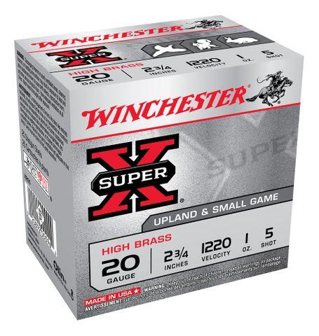 WINCHESTER SUPER X 1200FPS 20GA 5  25PKT