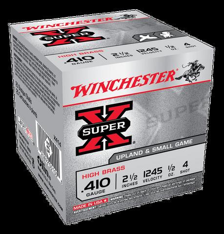 WINCHESTER SUPER X 1245FPS 410GA 14GR 4  25PKT