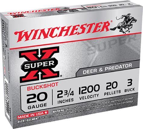 WINCHESTER 20GA 20PELLETS (5)