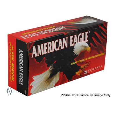 FEDERAL AMERICAN EAGLE 44 MAG 240GR JHP 50PKT