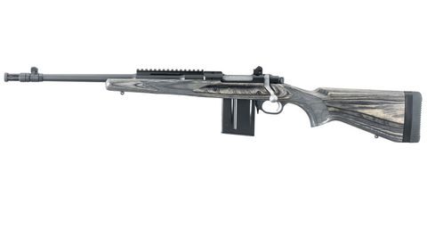 RUGER 77 GUNSITE SCOUT LAMINATE BLUED 16.5IN 223 LEFT HAND