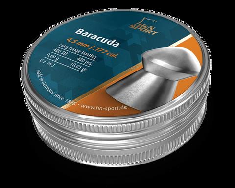 H & N BARACUDA 10.65GR .177 PELLET 400PKT