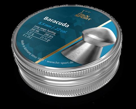 H & N BARACUDA 21.14GR .22 PELLETS 200PKT
