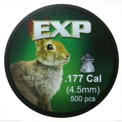 EXP HUNTING 8.0GR .177 PELLET 500PKT
