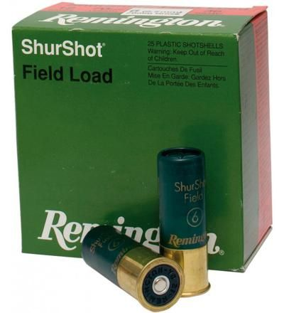REMINGTON SHURSHOT FIELD 12GA 34GR 25PKT