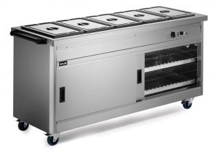 Panther 670 Hot Cupboard Bain Marie Top 5 1/1 Gn