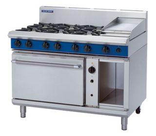 Blue Seal  6 burner +300mm Griddle Gas Convection Range