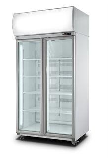 Iccold Double Door Freezer (price excludes freight)