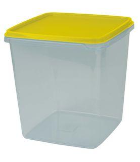 Cuisine Queen Prep Storer Clear 4.4L - Yellow Lid