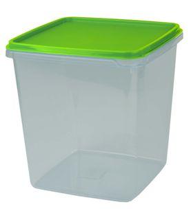 Cuisine Queen Prep Storer Clear 4.4L - Green Lid
