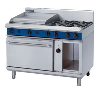 Blue Seal Electric Convection Oven 4 Burner + 600mm Griddle Gas Range