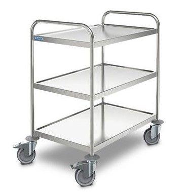 SW S/S 8x5/3 Serving Trolleys 3 shelves 800x500