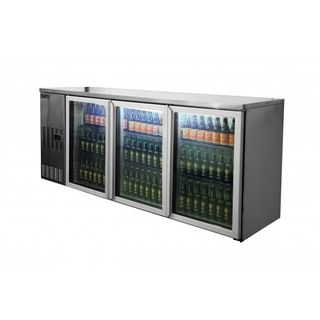 Apollo 3 door bottle cooler 580litre