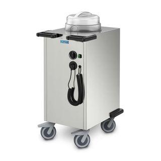 Hupfer Plate Dispenser TEH-1/V 27-33 heated mobile