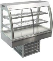 Cossiga Curved Counterop 600mm Refrigerated