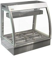 Cossiga Curved Countertop 1500mm Bain Marie
