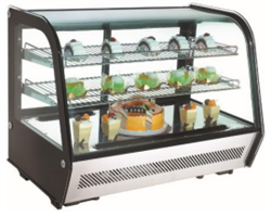 Rotor Curved front refrigerated display cabinet