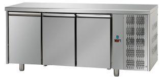 TFGN 3 door fully Stainless Steel 460L u/c kitchen chiller