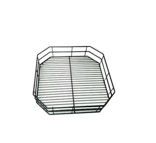 Dishwasher Basket Plain Black 435x435