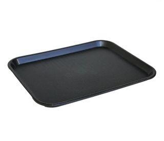Tray 30x40cm Black Plastic