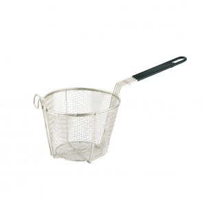Fry Basket 20cm H.D. Round  Plated