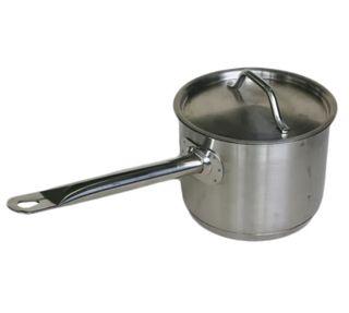 Saucepan 2.4ltr W/Cvr S/S 16cm