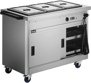 Panther 670 Hot Cupboard Bain Marie Top 3 1/1GN