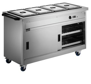 Panther 670 Hot Cupboard Bain Marie Top 4 1/1GN