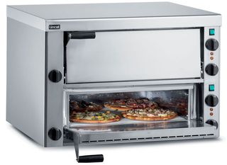 Lincat Twin Deck Firebrick Base Pizza Oven