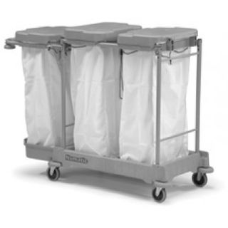Lidded Linen Trolley 3 x 100L