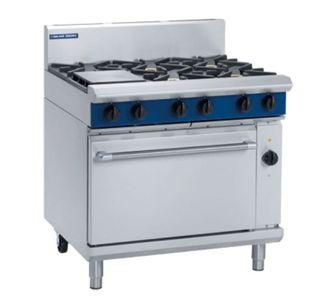 Blue Seal Electric Convection Oven 6 burner Gas Range