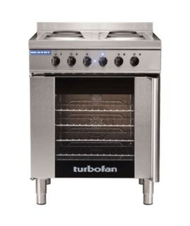 Turbofan Electric Convection Oven and Cooktop