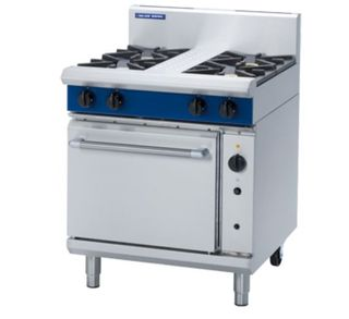 Blue Seal 4 Burner Gas Convection Range
