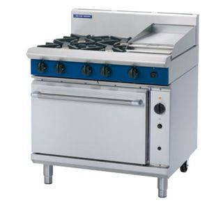 Blue Seal Gas Convection range 4 burner + 300mm griddle