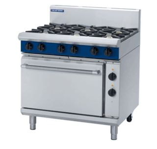 Blue Seal 6 Burner Static Electric Oven Gas Range