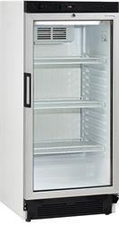 Tefcold Single Glass door cooler 215l