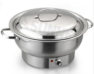 Round Electric Chafer 3.8ltr