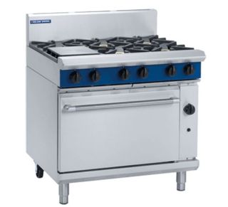 Blue Seal Gas Range 6 Burner Static Oven