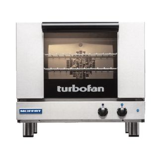 Turbofan Half Size Tray Manual Electric Baking Oven 10A