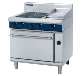Blue Seal 4 Plate + 300 mm Griddle Electric Range Convection Oven