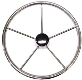 Stainless Steel 5 Spoke Steering Wheels