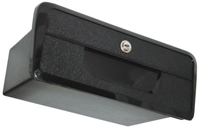 GLOVE BOX STD BLACK