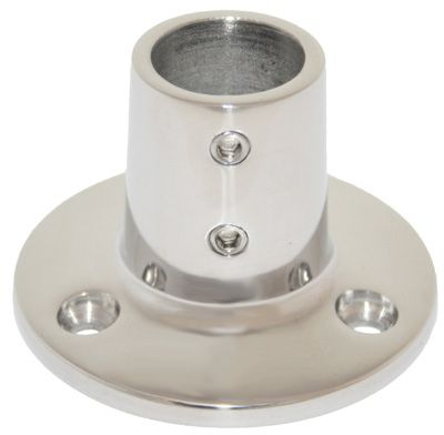 Cast 316G S/S Base 90 Degree Round Fitting