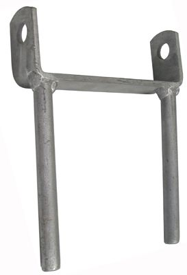 Galvanised Trailer Roller Brackets with Two Legs