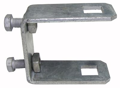 Galvanised Trailer Post Clamps