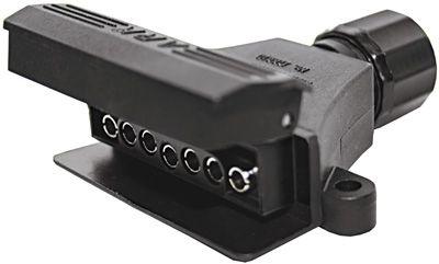 Trailer Light Plugs & Sockets - 7 Pin Flat