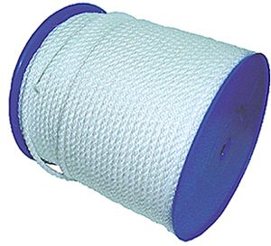 Polyethylene Staple Silver Rope