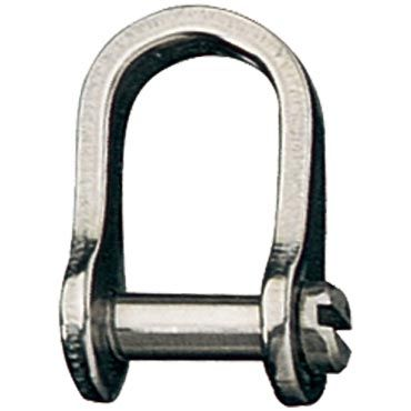 Ronstan Lightweight Dee with Shackle Pin