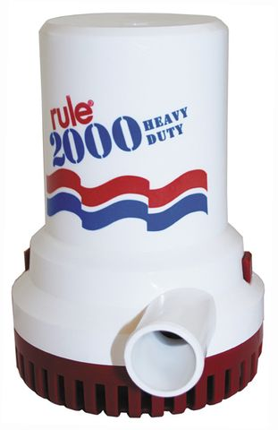 Rule 2000gph Bilge Pumps