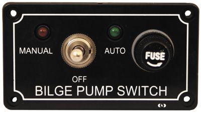 BILGE PUMP CONTROL PANEL MAN/OFF/AUTO